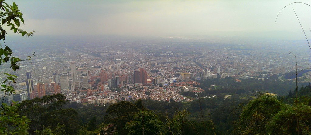 Bogota from on high