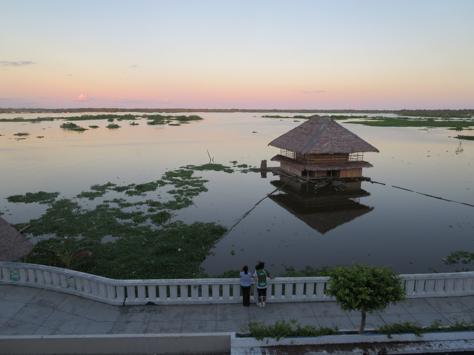 The river from Iquitos