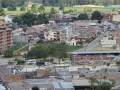 View over Popayan