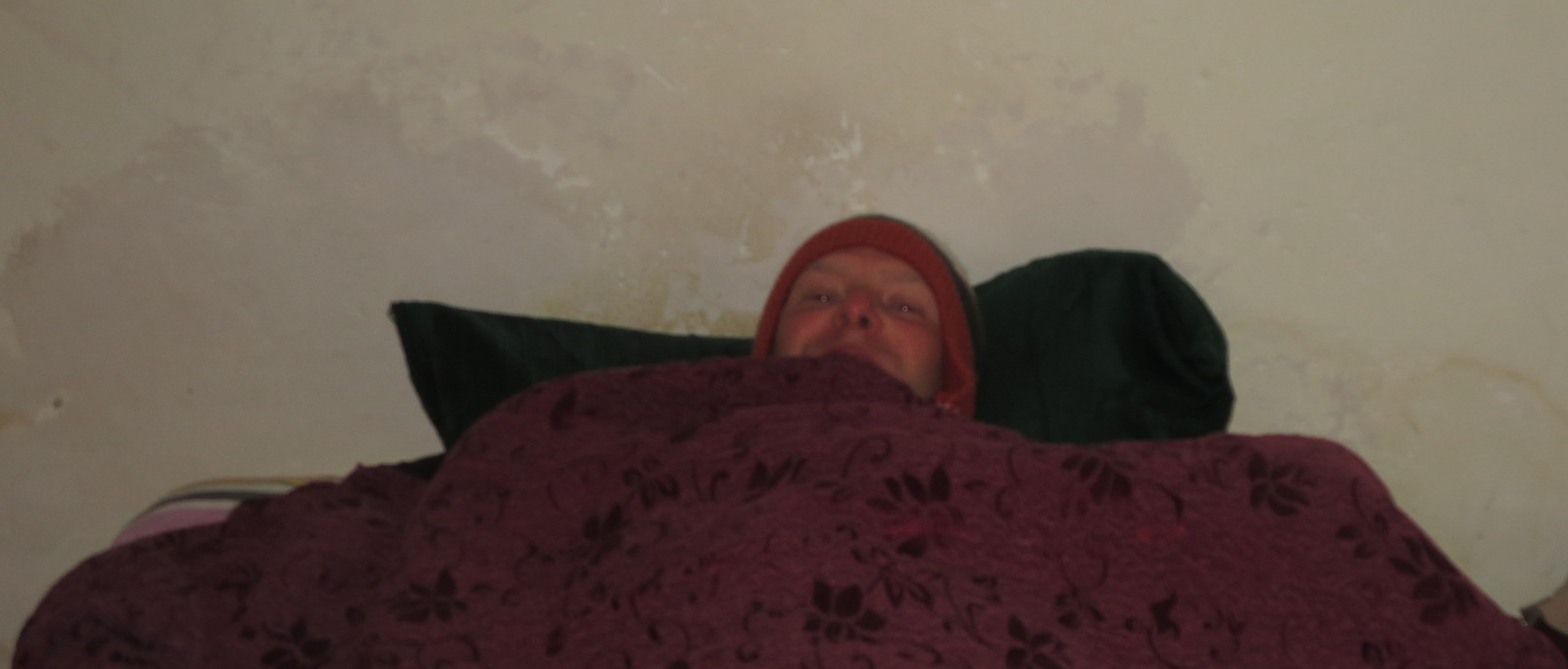 Cold in bed