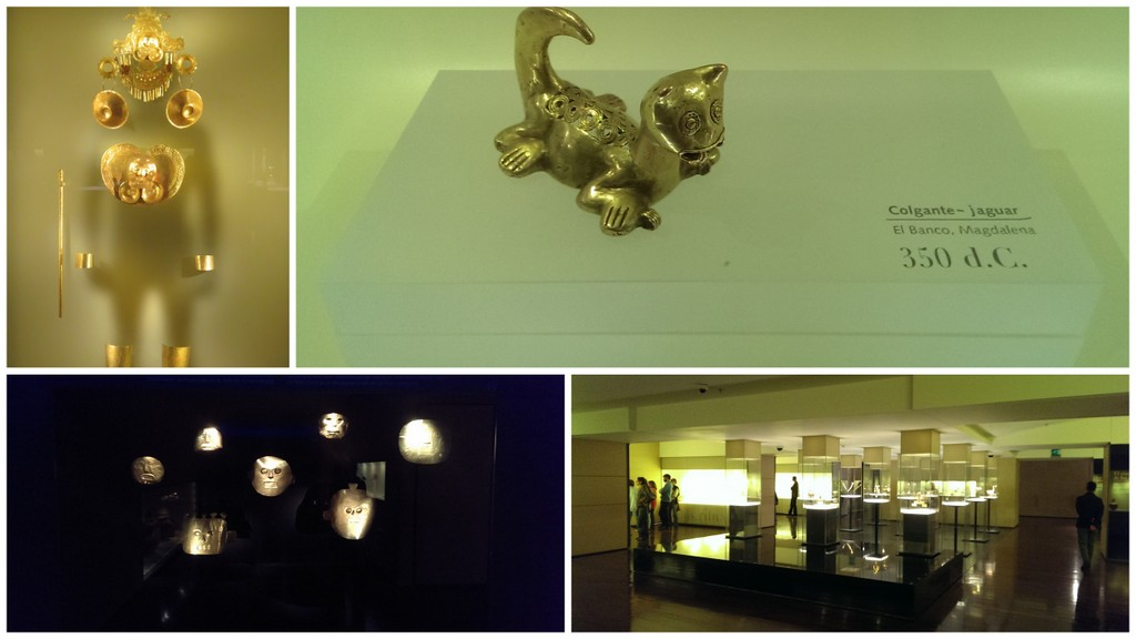 Museu del Oro Collage